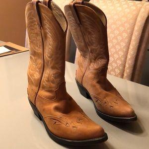 Men's Durango cowboy boots 9EE Womens 11W